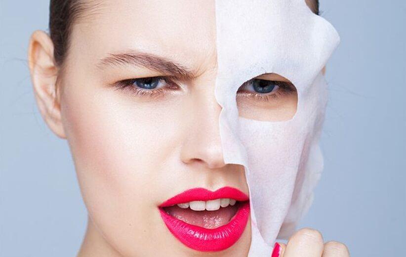 ماسک های ضدآکنه برای پوست