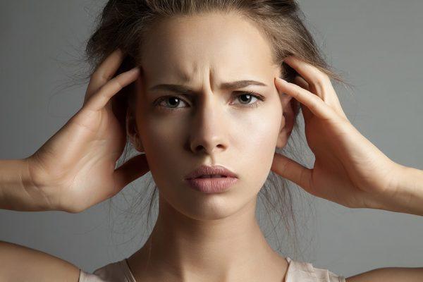 عوارض استرس برای پوست